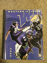 Load image into Gallery viewer, 2002 WESTERN ILLINOIS UNIVERSITY COLLEGE  FOOTBALL MEDIA GUIDE b6