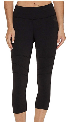 The North Face TNF Women's Motivation Capri Tights, Black - FlashDry XS S M  $65