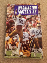 Load image into Gallery viewer, 1988 WASHINGTON FOOTBALL BOOK MEDIA GUIDE B0X7