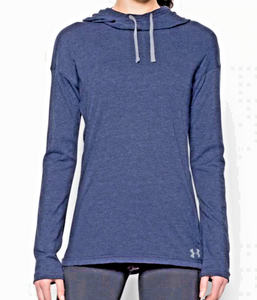 Under Armour UA Womens Stadium Hoodie Pullover HeatGear 1276522 Color/Sizes $40