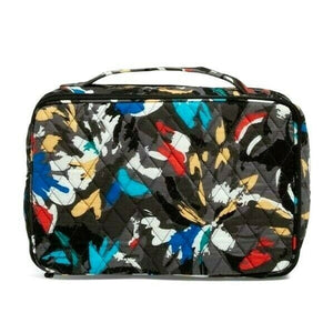 Vera Bradley Large Blush & Brush Makeup Case Organizer - Splash Floral - $52