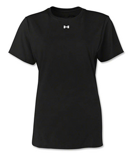 Under Armour Women's UA 1233719 Locker HeatGear Short Sleeve T-Shirt Tee Colors