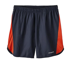 "Load image into Gallery viewer, Patagonia Mens Strider Running Shorts 7"" - 24648 - Black or Blue Sizes S-XL -$55"