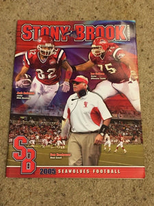 2005 STONY BROOK UNIVERSITY COLLEGE FOOTBALL MEDIA GUIDE - BOX5