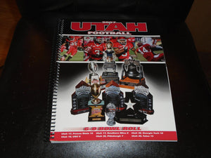 2007 UTAH COLLEGE FOOTBALL MEDIA GUIDE NEAR MINT BOX 2