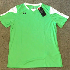 Under Armour UA Boy's Youth Maquina Soccer Jersey 1270940 Lime Green S, M, L XL