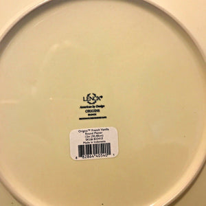 "LENOX Origins 12"" Serving Platter Chop Plate Charger Blue, Cafe or Vanilla $72"