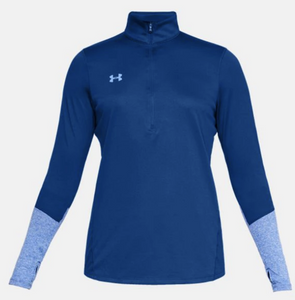 Under Armour UA HeatGear Womens Locker 1/2 Zip Long Sleeve Pullover 1309958