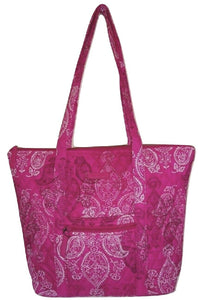 Vera Bradley VILLAGER - Stamped Paisley - Shoulder Bag Purse Handbag Tote - $78