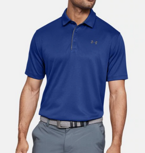Under Armour Mens UA Tech Polo HeatGear Loose Polo 1290140 - Choose Color & Size
