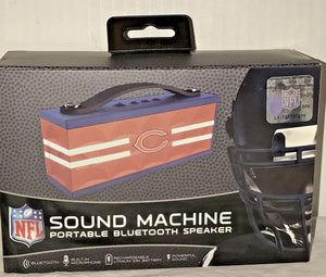 NFL IHip Portable Wireless Bluetooth Speaker Sound Machine NY Jets, BEARS, COLTS