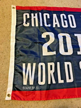 Load image into Gallery viewer, Chicago Cubs 2016 World Series Champions BANNER FLAG PENNANT SGA 4/12/17 Wrigley