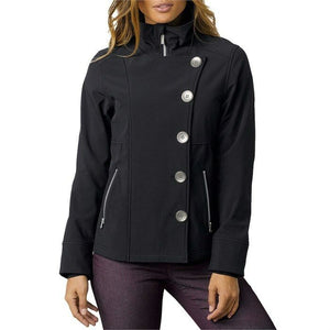 PrAna Women's Martina Jacket Coat Sand/Beige or Black Soft Shell Water Res $159