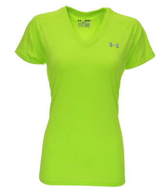 Under Armour Womens UA Tech HeatGear Tee 1228321 Pick SZ/Color Yellow Green Blue