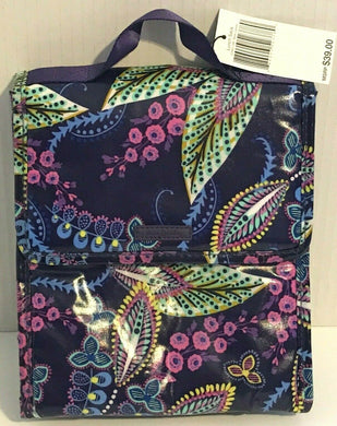 Vera Bradley LUNCH SACK Insulated Bag tote bunch case box laminated cooler