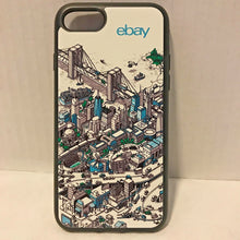 Load image into Gallery viewer, Official eBay Branded iPhone 7 Case - City Mural Artwork