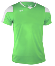 Load image into Gallery viewer, Under Armour UA Boy's Youth Maquina Soccer Jersey 1270940 Lime Green S, M, L XL