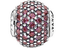 Load image into Gallery viewer, Authentic Pandora Essence Passion Red CZ Charm 796063CFR Silver Bead