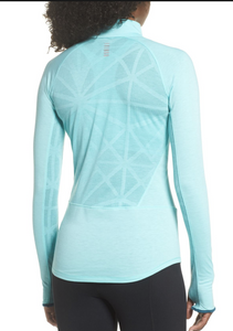 Under Armour UA Threadborne Swyft 1/2 Zip Women Long Sleeve Pullover 1305116 $60