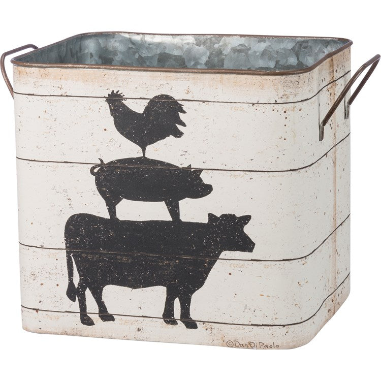 Farmhouse Buckets Set of Two
