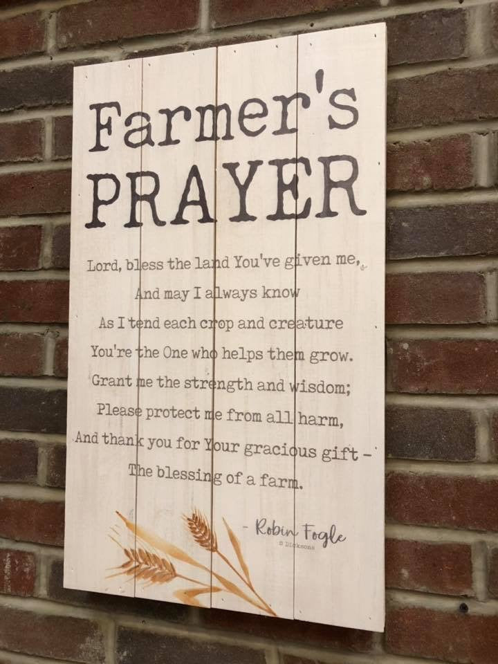 Farmer's Prayer