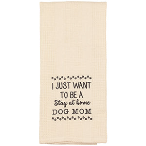Dog Mom Towel