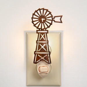 Farmhouse Windmill Night Light