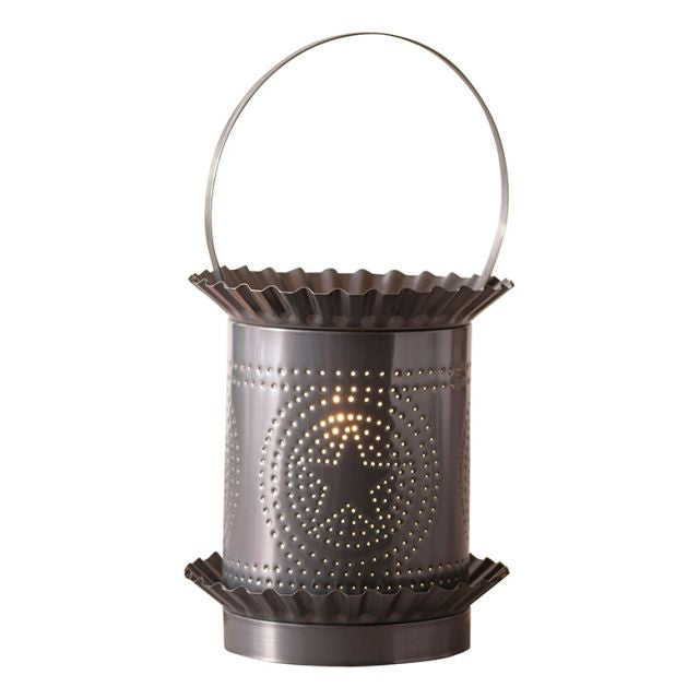 Punched Tin Star Tart Warmer