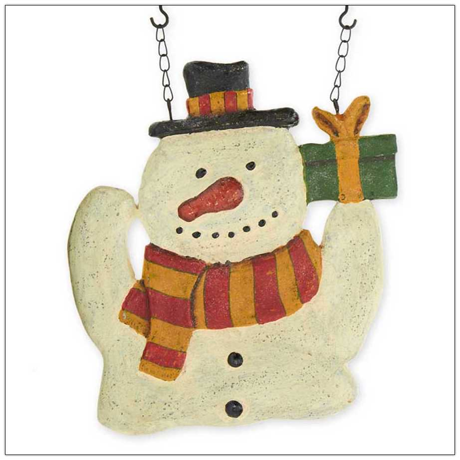 Snowman with Gift Arrow Replacement
