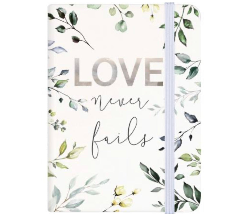 Love Never Fails Journal/Notepad