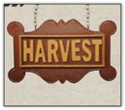Harvest Sign Arrow Replacement