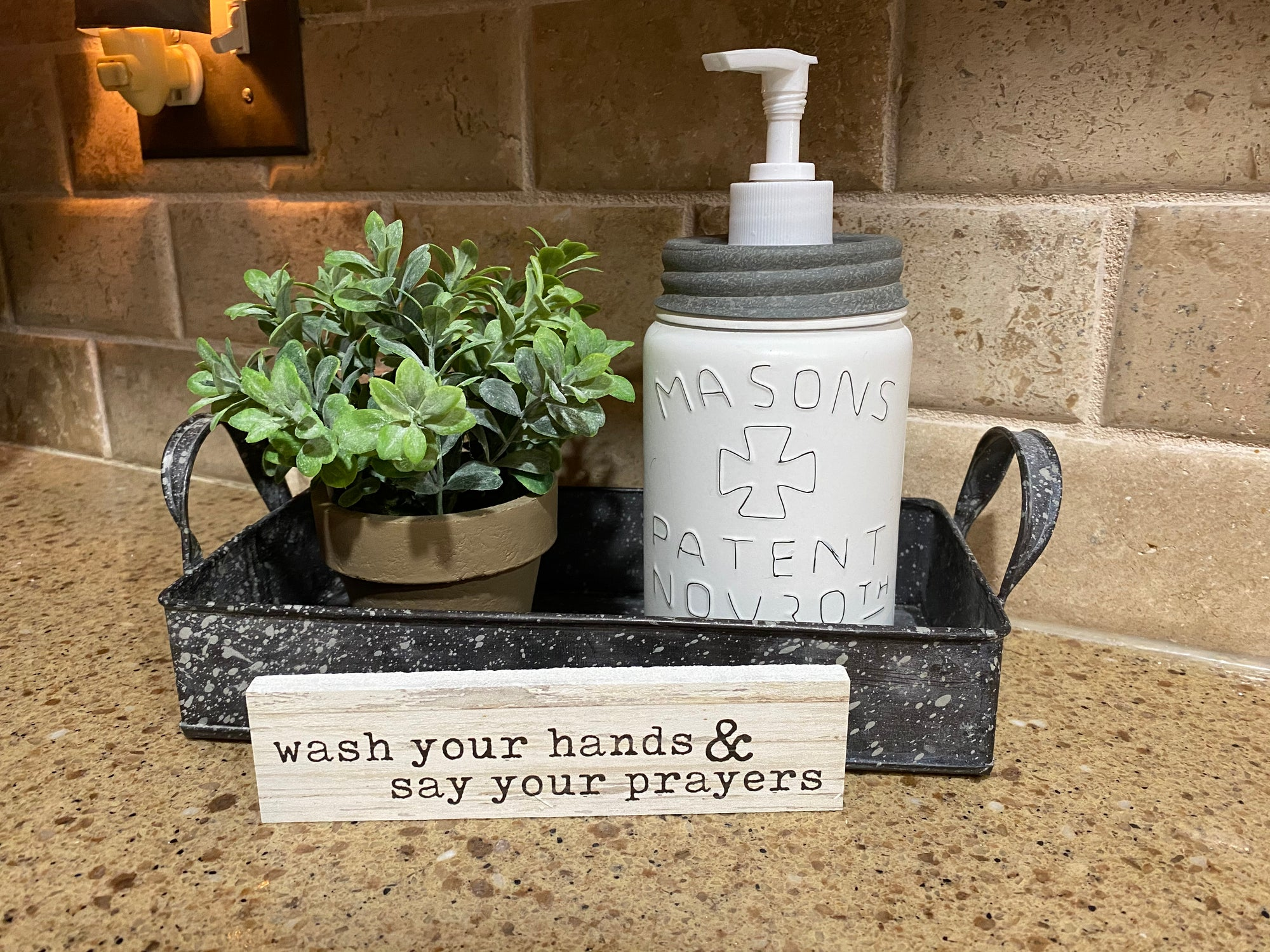 Wash Your Hands Arrangement