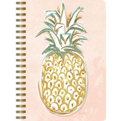 Pineapple Paradise Spiral Journal