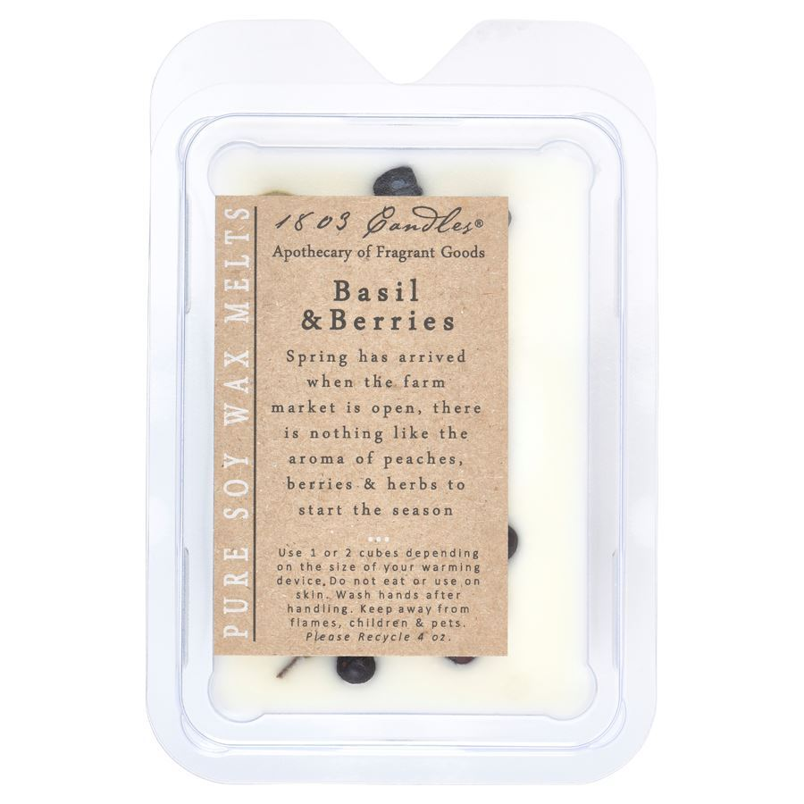 Basil & Berries Soy Melts