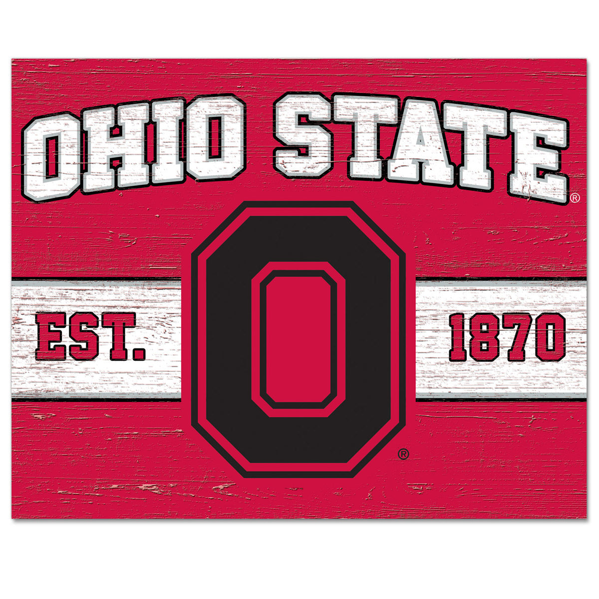 Ohio State Cutting Board