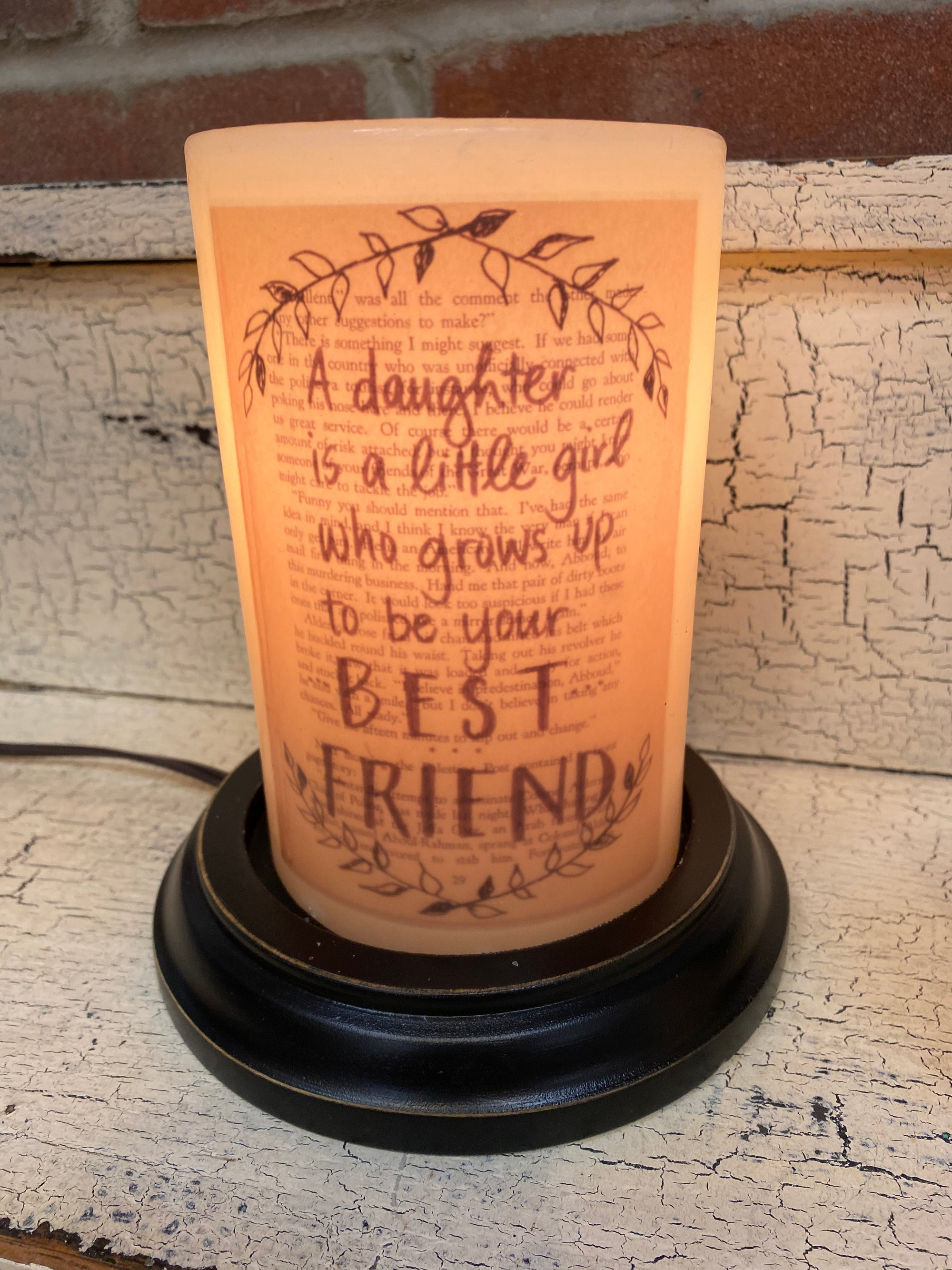 Daughter Candle Sleeve