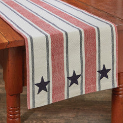 "Stars and Stripes 36"" Table Runner"