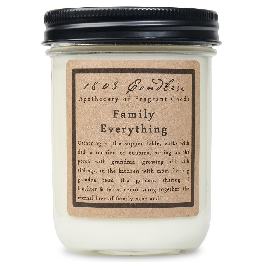 Family Everything Soy Jar 14 oz