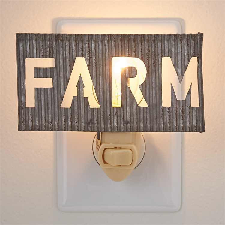 Farm Night Light