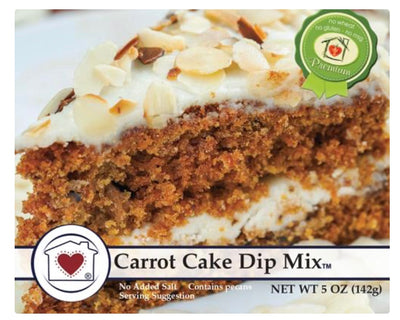 Carrot Cake Dip Mix