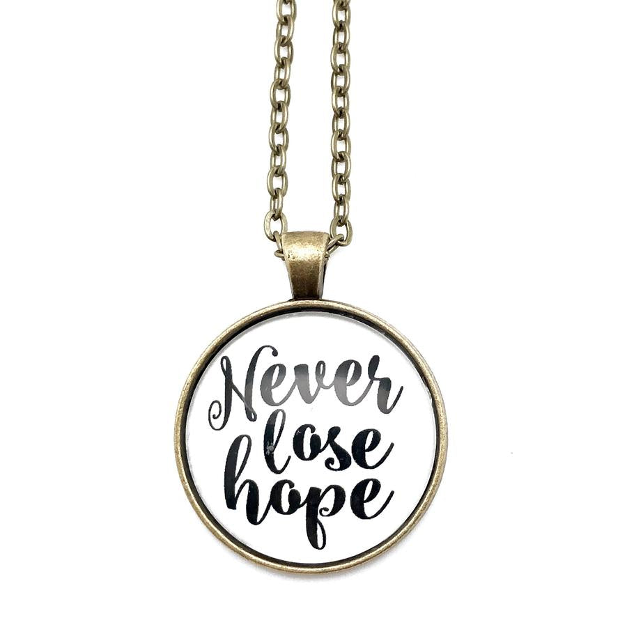 Never Lose Hope Necklace