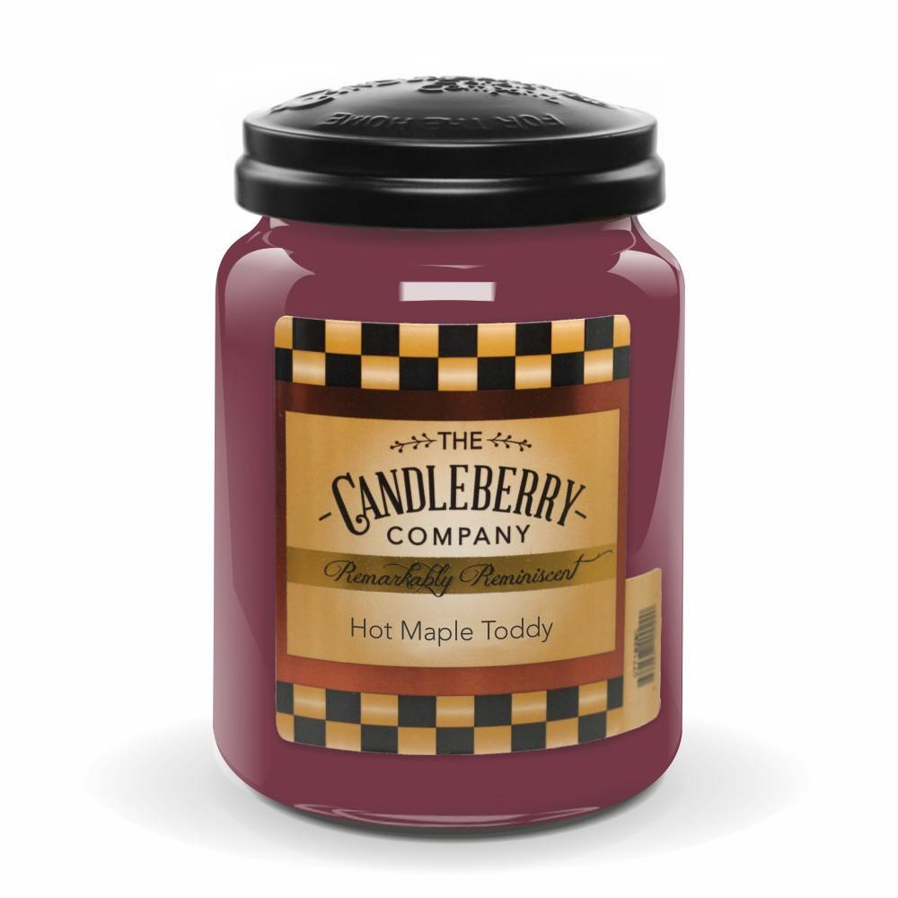 Hot Maple Toddy 26 oz Candleberry Candles