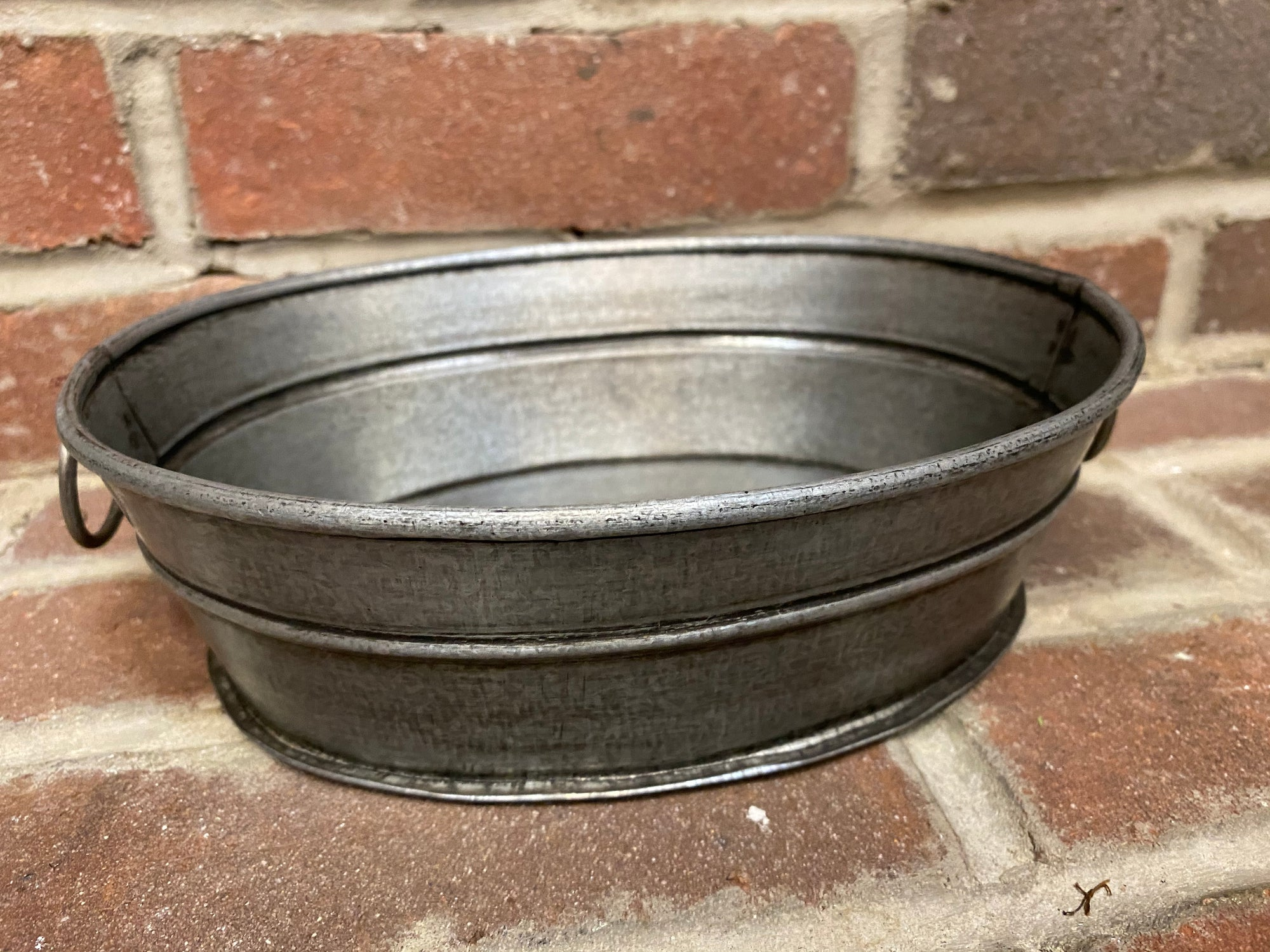 Tin Wash Tub