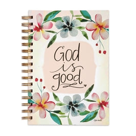 God is Good Wirebound Journal