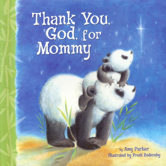 Thank You God for Mommy Book