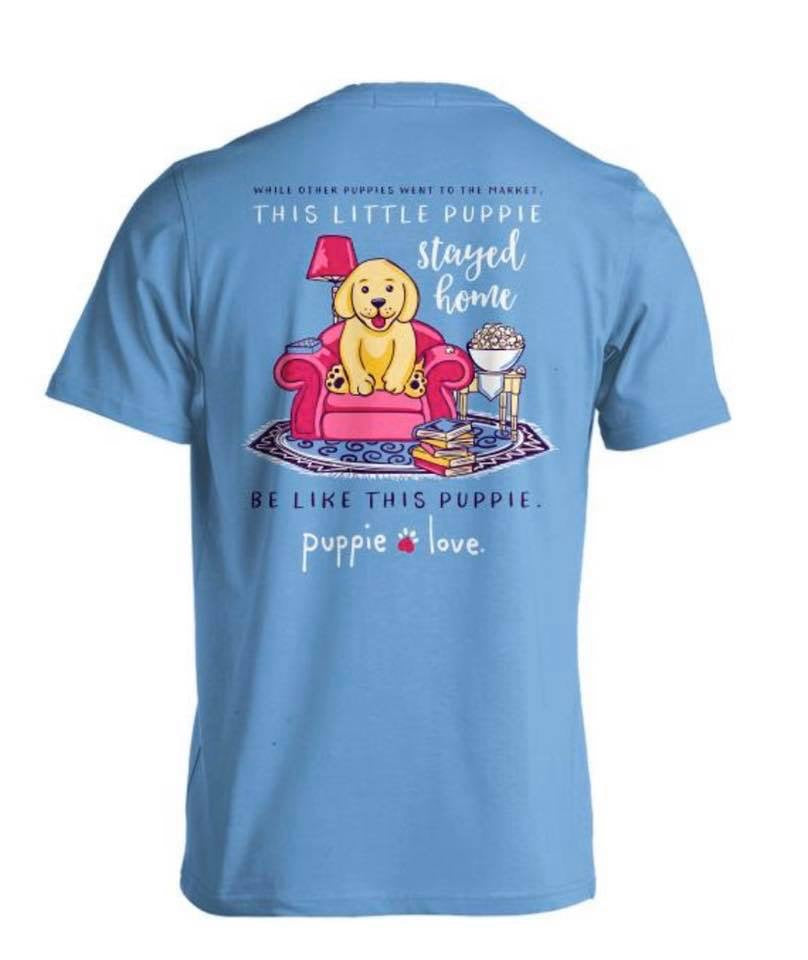 Puppie Love Stay at Home Pup Tee