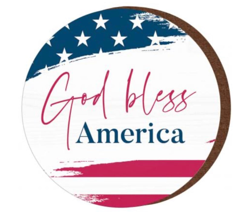 God Bless America Magnet