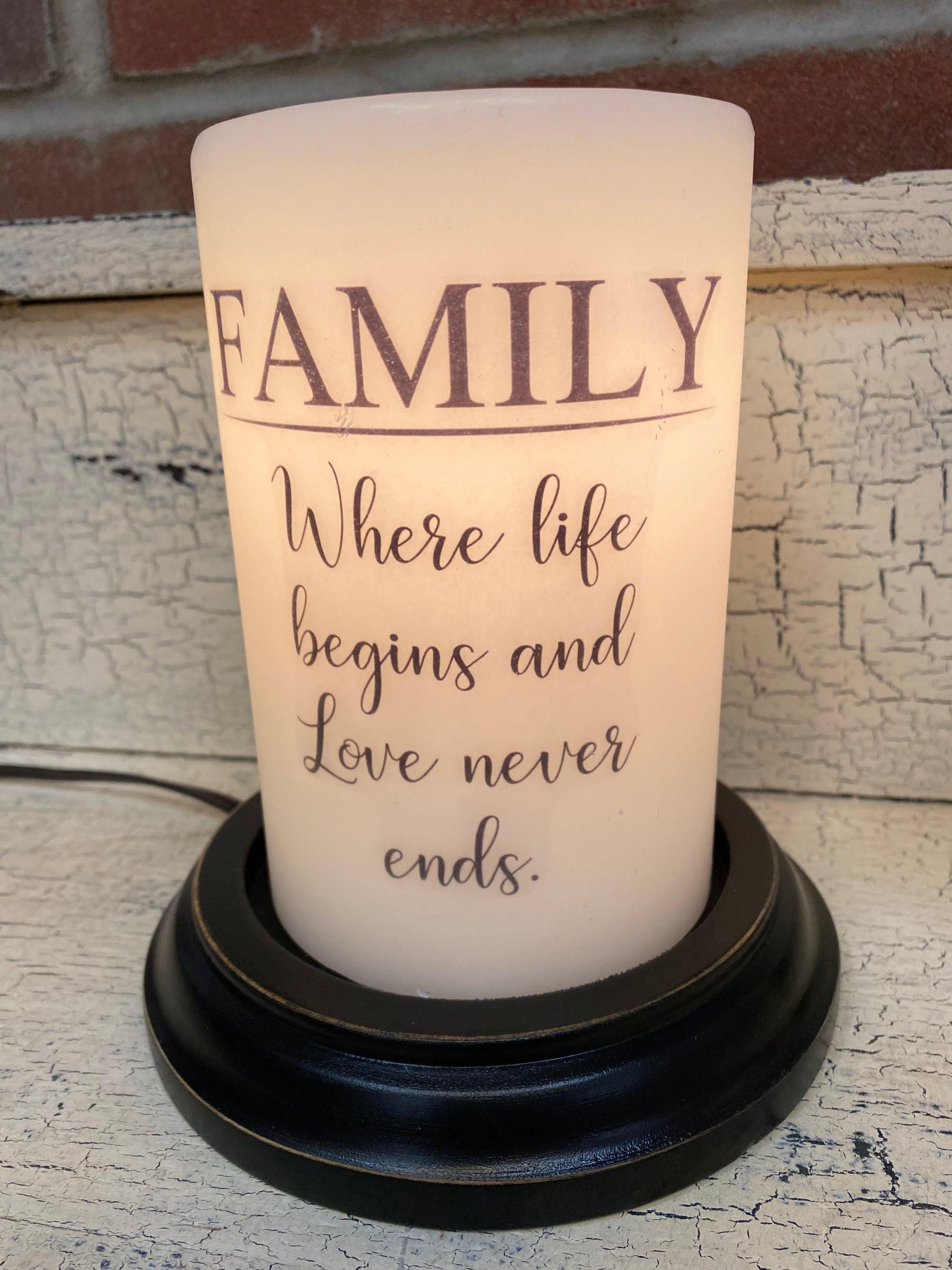 Family Candle Sleeve