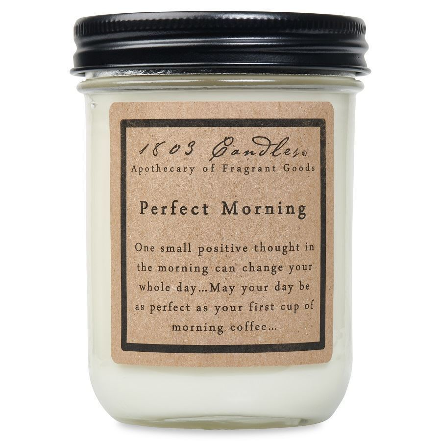 Perfect Morning Soy Jars (14 oz )