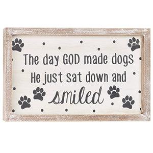 Dogs/Smiled Sign